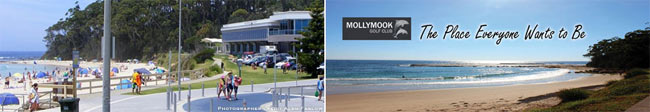 Mollymook Accommodation - Ocean View Motel